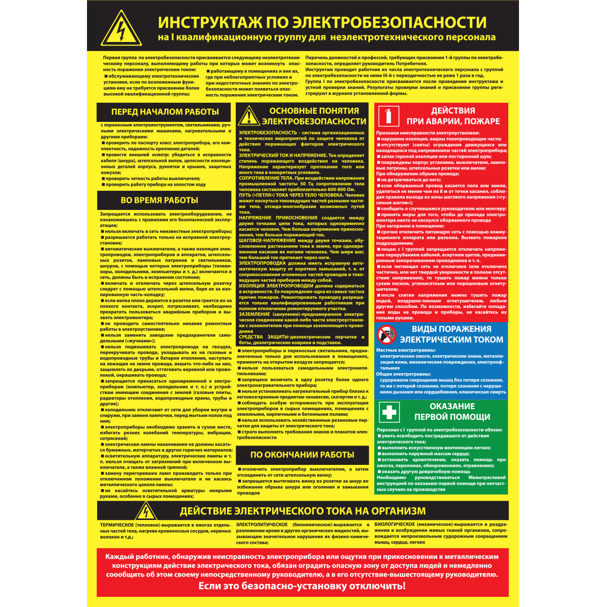 Как проводиться инструктаж по электробезопасности на 1 группу электробезопасность группы помещений